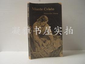 MOnte Cristo ALEXANDRE DUMAS基督山伯爵(英文版)