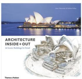 Architecture Inside Out 建筑内外:50个标志性建筑细节 英文原版 建筑设计艺术图书