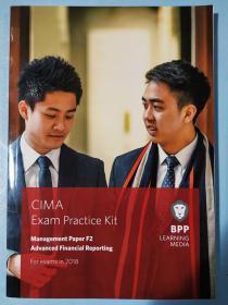 正版 CIMA F2 Advanced Financial Reporting (Exam Practice Kit) For exams in 2018 BPP LEANING MEDIA 9781509715770