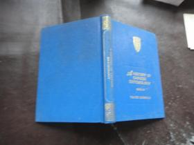 A HISTORY OF CHINESE ENTOMOLOGY(中国昆虫学史),英文版,(精装本) 作者 : CHOU IO(周尧) 著 王思明 译 出版社 : 天则出版社