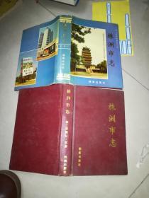 湖南株洲 株洲市志  16册合售  看描述