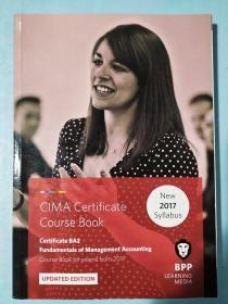 正版 CIMA BA2 Fundamentals of Accounting (Course Book) UPDATED EDITION  For exams from 2017 BPP LEARNING MEDIA 99781509711598