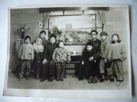 六十年代的家庭合影