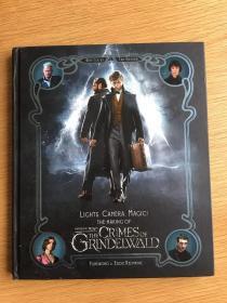 订购神奇动物在哪里2电影幕后制作 美版 Lights, Camera, Magic!: The Making of Fantastic Beasts: The Crimes of Grindelwald