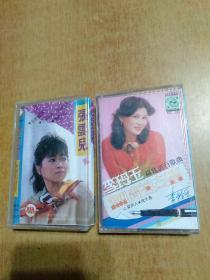 磁带2盒合售:李玲玉·无情的支票(福建流行歌曲)、张云儿·我想有个家
