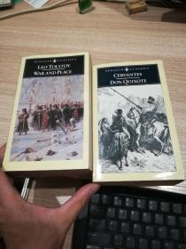 war  and  peace     don  quxote  (penguin   classics)两册合售