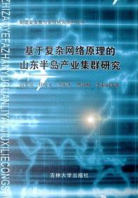 基于复杂网络原理的山东半岛产业集群研究(制造业发展与管理研究系列丛书)