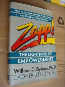 Zapp ! The Lightning of Empowerment 精装+书衣 ,24开 保存较新
