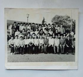 八十年代老照片:毕业照