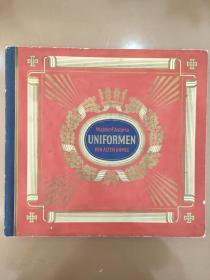 德国陆军 制服 图册 图录 312张齐 图册30x28cm 图片4.5x6cm