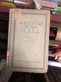 A HISTORY OF THE U.S.S.R   (英文版 )  馆藏