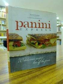 panini esperss 70 delicious recipes hot off the press(意大利美食帕尼尼特别推荐—70种新的美味食谱)