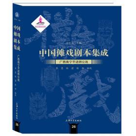 中国傩戏剧本集成:广西南宁平话师公戏