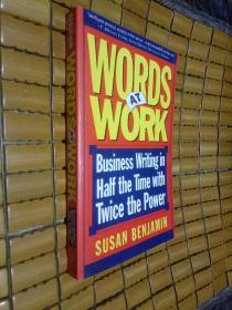 Words at Work:Business writing in Half the time with Twice the power