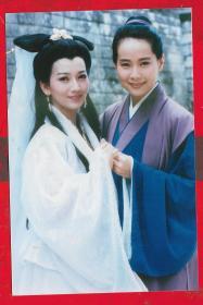 照片---【电视台流出的香港明星照片 赵雅芝 叶童等。】共五张合拍。。品如图。每张照片尺寸15.2*10.1CM。
