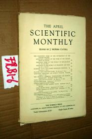 SCIENTIFIC MONTHLY 科学月刊1933年4月 多图片