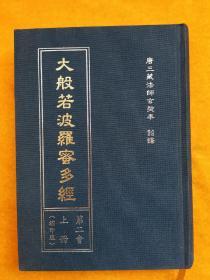 大般若波罗蜜多经 (第二会上册 缩印版)