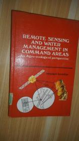 Remote Sensing and Water 遥感与水治理 英文原版精装 书名页