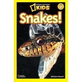 National Geographic Readers,Level 2: Snakes 美国《国家地理》杂志-儿童科普分级阅读,第2级:蛇