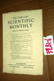 SCIENTIFIC MONTHLY 科学月刊1933年2月 多图片