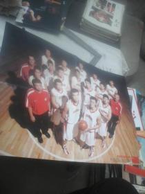 篮球海报  梦七集训队 中国男篮集训队