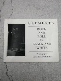 Element:rock and roll in black and white