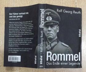 德语版 ROMMEL DAS ENDE EINER LEGENDE 二战小说  插图