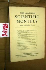 SCIENTIFIC MONTHLY 科学月刊1930年11月 多图片