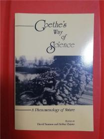 Goethe's Way of Science: A Phenomenology of Nature (歌德之科学观:自然现象学)研究文集