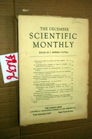 SCIENTIFIC MONTHLY 科学月刊1930年12月 多图片