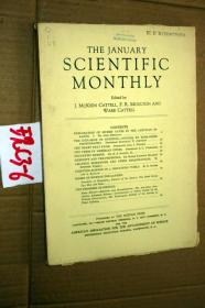 SCIENTIFIC MONTHLY 科学月刊1941年1月 多图片