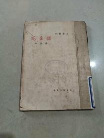民国巴金主编 文学丛刊---掘金记 1936年初版