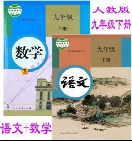 2019九年级下册课本 语文+数学 人教版