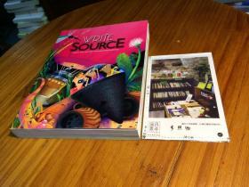 【妃红色 平装 】WRITE SOURCE : A BOOK FOR WRITING ,  THINKING,  AND LEARNING   写作资源   一本关于写作,思考和学习的书   英文原版教材美国原版教材英文教材