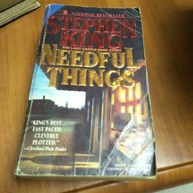 英文版:STEPHEN KING  NEEDFUL THINGS
