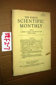 SCIENTIFIC MONTHLY 科学月刊1942年3月 多图片