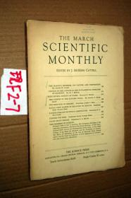 SCIENTIFIC MONTHLY 科学月刊1937年3月 多图片