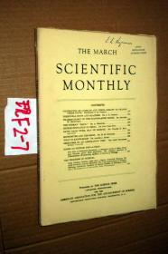 SCIENTIFIC MONTHLY 科学月刊1943年3月 多图片