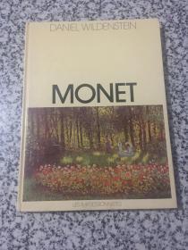 Monet Daniel Wildenstein (法国印象派画家莫奈画册)8开画册 语种看图为准