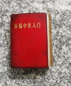 新编中医入门(有少量水渍和污渍;书品如图)
