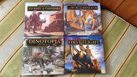 现货恐龙帝国四部曲20周年Dinotopia 20th Anniversary Edition