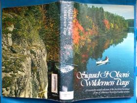 Sigurd F. Olsons Wilderness Days 美国自然/生态文学作家西格德·F.奥尔森的名著 英文原版 布面精装本 16开 多彩图