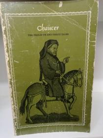杰弗雷·乔叟 The Prologue and Three Tales by Geoffrey Chaucer ( Longman Cheshire 1969年版) (英国文学经典)英文原版书
