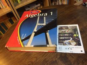 Algebra 1 代数 1   英文原版教材美国原版教材英文教材//