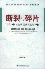 断裂与碎片-当代中国社会阶层分化实证分析 2005一版一印
