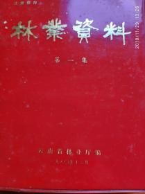 林业资料【红塑料皮金字】