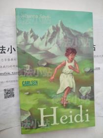 德文原版 德语 Heidi: Heidis Lehr-und Wanderjahre 海蒂 瑞士儿童文学 约翰娜·斯比丽