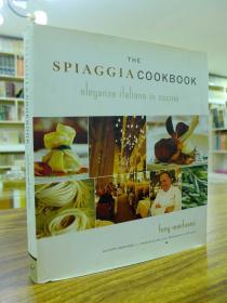 THE SPIAGGIA COOKBOOK ELEGANZA ITALIANA IN CUCINA(SpigaGa食谱:Cucina的意大利美食)