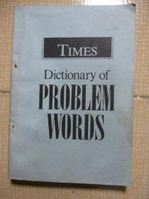 times dictionary of problem words