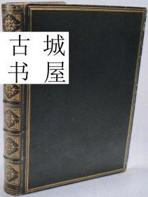 稀缺,《赞美乡村生活》精美版画插图,1857 年出版,精装